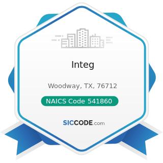 Integ - NAICS Code 541860 - Direct Mail Advertising