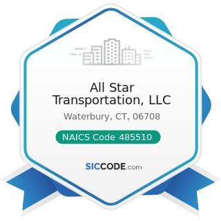 All Star Transportation, LLC - NAICS Code 485510 - Charter Bus Industry