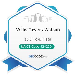 Willis Towers Watson - NAICS Code 524210 - Insurance Agencies and Brokerages