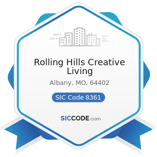 Rolling Hills Creative Living - SIC Code 8361 - Residential Care