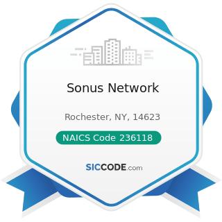 Sonus Network - NAICS Code 236118 - Residential Remodelers