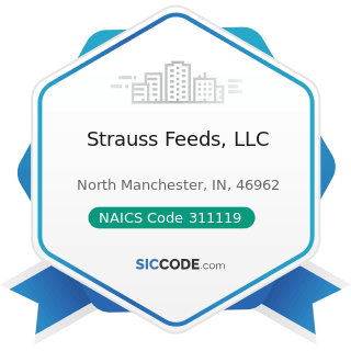 Strauss Feeds, LLC - NAICS Code 311119 - Other Animal Food Manufacturing