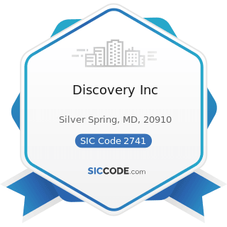 Discovery Inc - SIC Code 2741 - Miscellaneous Publishing