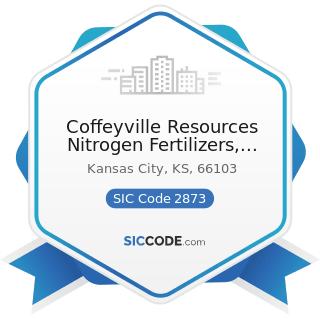 Coffeyville Resources Nitrogen Fertilizers, LLC - SIC Code 2873 - Nitrogenous Fertilizers