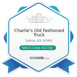 Charlie's Old Fashioned Truck - NAICS Code 811192 - Car Washes