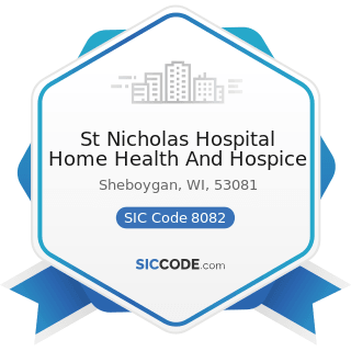 St Nicholas Hospital Home Health And Hospice - SIC Code 8082 - Home Health Care Services