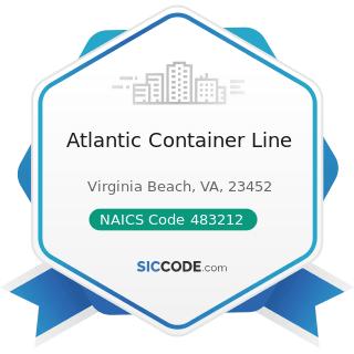Atlantic Container Line - NAICS Code 483212 - Inland Water Passenger Transportation