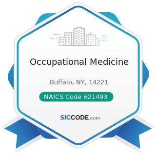 Occupational Medicine - NAICS Code 621493 - Freestanding Ambulatory Surgical and Emergency...