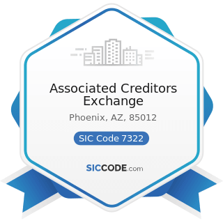 Associated Creditors Exchange - SIC Code 7322 - Adjustment and Collection Services