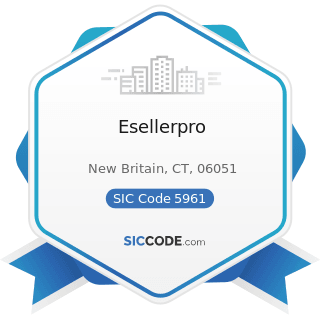 Esellerpro - SIC Code 5961 - Catalog and Mail-Order Houses