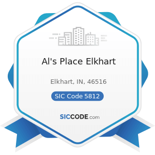 Al's Place Elkhart - SIC Code 5812 - Eating Places