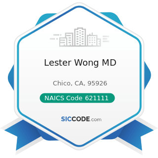 Lester Wong MD - NAICS Code 621111 - Offices of Physicians (except Mental Health Specialists)