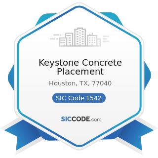 Keystone Concrete Placement - SIC Code 1542 - General Contractors-Nonresidential Buildings,...