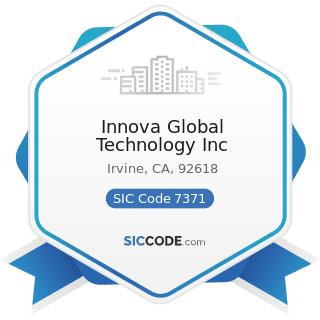 Innova Global Technology Inc - SIC Code 7371 - Computer Programming Services