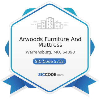 Arwoods Furniture And Mattress - SIC Code 5712 - Furniture Stores
