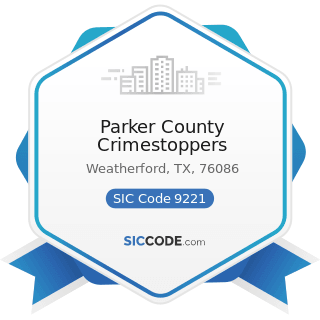 Parker County Crimestoppers - SIC Code 9221 - Police Protection