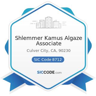Shlemmer Kamus Algaze Associate - SIC Code 8712 - Architectural Services