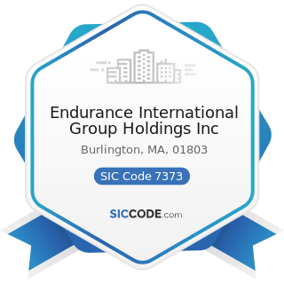 Endurance International Group Holdings Inc - SIC Code 7373 - Computer Integrated Systems Design