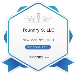 Foundry 9, LLC - SIC Code 7311 - Advertising Agencies