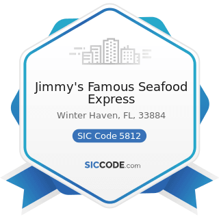 Jimmy's Famous Seafood Express - SIC Code 5812 - Eating Places