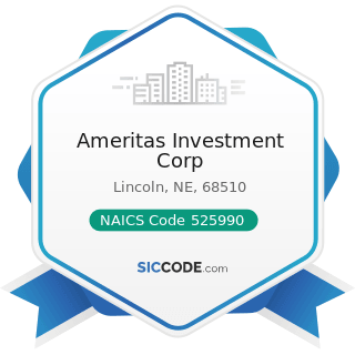 Ameritas Investment Corp - NAICS Code 525990 - Other Financial Vehicles
