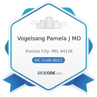 Vogelsang Pamela J MD - SIC Code 8011 - Offices and Clinics of Doctors of Medicine