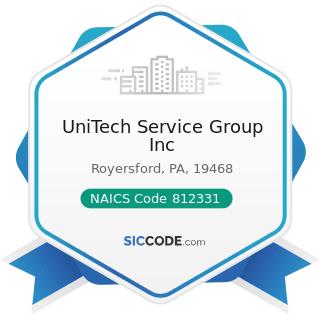 UniTech Service Group Inc - NAICS Code 812331 - Linen Supply