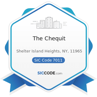 The Chequit - SIC Code 7011 - Hotels and Motels