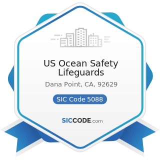 US Ocean Safety Lifeguards - SIC Code 5088 - Transportation Equipment and Supplies, except Motor...