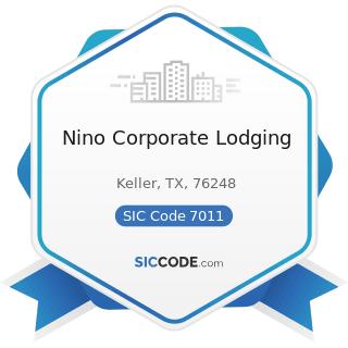 Nino Corporate Lodging - SIC Code 7011 - Hotels and Motels
