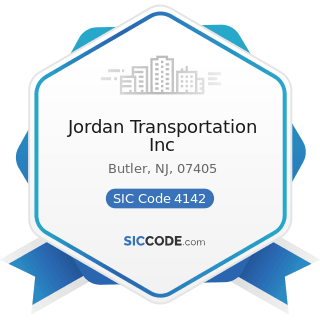 Jordan Transportation Inc - SIC Code 4142 - Bus Charter Service, except Local