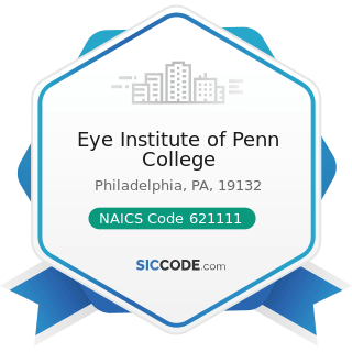 Eye Institute of Penn College - NAICS Code 621111 - Offices of Physicians (except Mental Health...