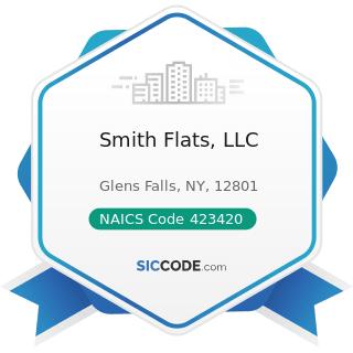 Smith Flats, LLC - NAICS Code 423420 - Office Equipment Merchant Wholesalers
