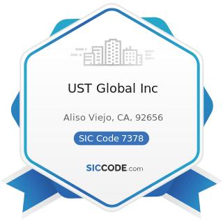 UST Global Inc - SIC Code 7378 - Computer Maintenance and Repair