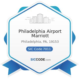 Philadelphia Airport Marriott - SIC Code 7011 - Hotels and Motels