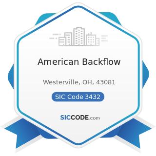 American Backflow - SIC Code 3432 - Plumbing Fixture Fittings and Trim