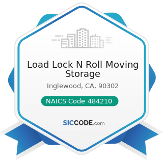 Load Lock N Roll Moving Storage - NAICS Code 484210 - Used Household and Office Goods Moving
