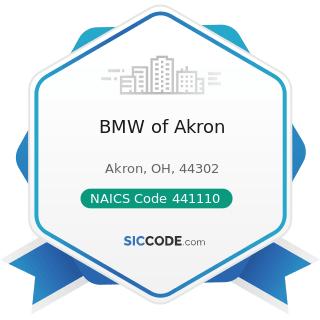 BMW of Akron - NAICS Code 441110 - New Car Dealers