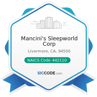 Mancini's Sleepworld Corp - NAICS Code 442110 - Furniture Stores