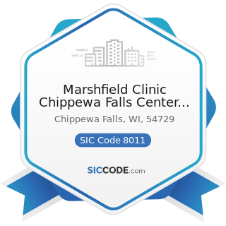 Marshfield Clinic Chippewa Falls Center Pharmacy - SIC Code 8011 - Offices and Clinics of...
