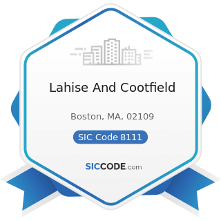 Lahise And Cootfield - SIC Code 8111 - Legal Services
