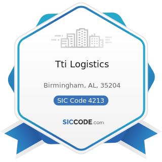 Tti Logistics - SIC Code 4213 - Trucking, except Local