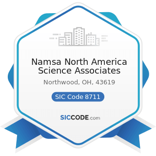 Namsa North America Science Associates - SIC Code 8711 - Engineering Services