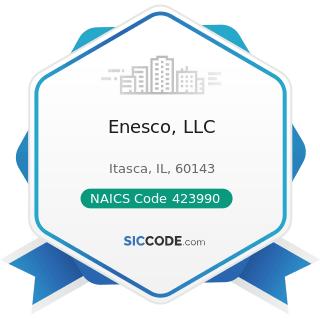 Enesco, LLC - NAICS Code 423990 - Other Miscellaneous Durable Goods Merchant Wholesalers