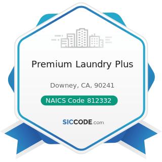 Premium Laundry Plus - NAICS Code 812332 - Industrial Launderers