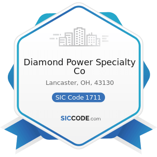 Diamond Power Specialty Co - SIC Code 1711 - Plumbing, Heating and Air-Conditioning