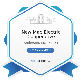 New Mac Electric Cooperative - SIC Code 4911 - Electric Services