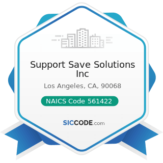 Support Save Solutions Inc - NAICS Code 561422 - Telemarketing Bureaus and Other Contact Centers