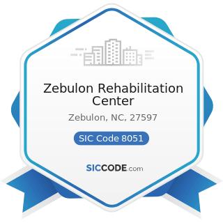 Zebulon Rehabilitation Center - SIC Code 8051 - Skilled Nursing Care Facilities