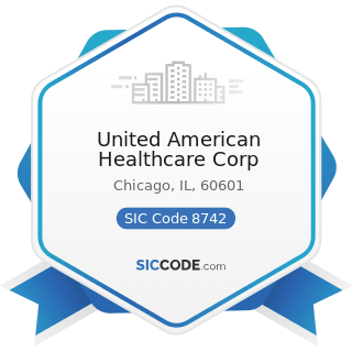 United American Healthcare Corp - SIC Code 8742 - Management Consulting Services